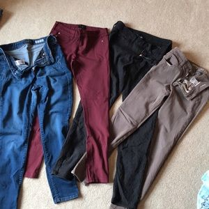 4 pairs American Eagle and Aeropostale, size 4
